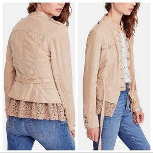 Free People Jackets & Coats - $148 Free People Emilia Military Jacket